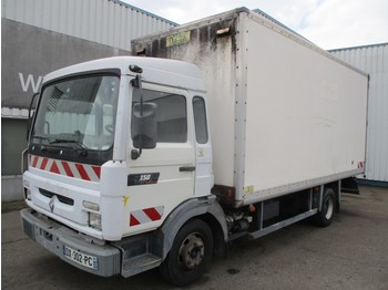 Renault Midliner S 180 , Manual , Spring suspension - camion fourgon