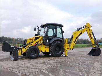 Tractopelle New Holland B80B Hammer lines + 4/1 bucket